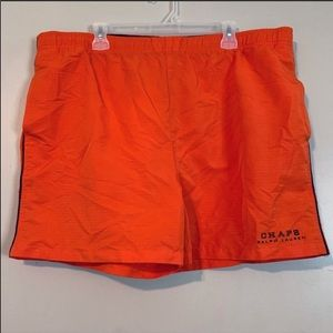 Chaps Ralph Lauren | Bright orange swim trunks XL